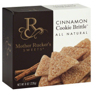 MORTHER RUCKERS SWEETS, COOKIE CNNMN BRITTLE, 7.5 OZ, (Pack of 6)