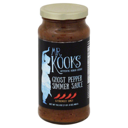 Sauce Curry Ghost Pepper (Pack Of 6)
