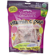 Yummyearth, Pops Vit C Fmly Bag, 8.5 Oz, (Pack Of 12)
