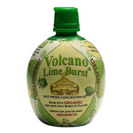 Volcano, Juice Lime Burst Org, 6.7 Oz, (Pack Of 12)