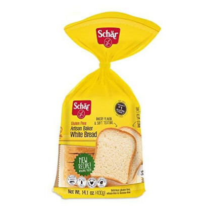 Schar, Bread Loaf White Clsc Gf, 14.1 Oz, (Pack Of 6)