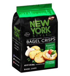 New York Style, Bagel Crsp Grlc, 7.2 Oz, (Pack Of 12)