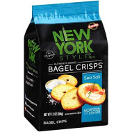 New York Style, Bagel Crsp Seasalt, 7.2 Oz, (Pack Of 12)