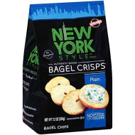 New York Style, Bagel Crsp Plain, 7.2 Oz, (Pack Of 12)