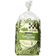Al Dente, Pasta Fttccne Spinach, 12 Oz, (Pack Of 6)