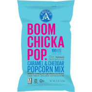 Angies, Popcorn Boomchka Crml Chd, 6 Oz, (Pack Of 12)
