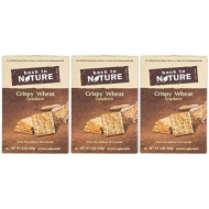 Back To Nature, Cracker Crispy Wht, 8 Oz, (Pack Of 6)