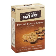Back To Nature, Cookie Sndwch Pnut Bttr C, 9.6 Oz, (Pack Of 6)