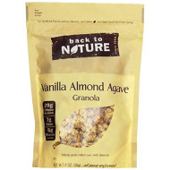 Back To Nature, Granola Vnlla Almnd, 11 Oz, (Pack Of 6)