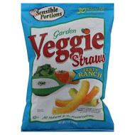 Sensible Portions, Straw Veggie Ranch, 7 Oz, (Pack Of 12)