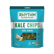 Rhythm Superfoods, Chip Kale Kool Ranch Org, 2 Oz, (Pack Of 12)