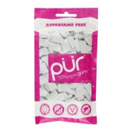 Pur Gum, Gum Pmgrnte Mint 60Pc, 2.82 Oz, (Pack Of 12)