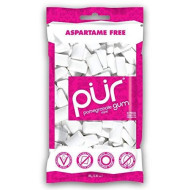 Pur Gum, Gum Peppermint 60Pc, 2.82 Oz, (Pack Of 12)
