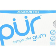 Pur Gum, Gum Peppermint, 9 Pc, (Pack Of 12)