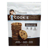 Mrs Thinsters, Cookie Thin Choc Chip, 4 Oz, (Pack Of 12)