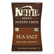 Kettle Foods, Chip Pto Ntrl Lit Salt, 8.5 Oz, (Pack Of 12)