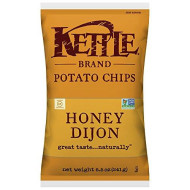 Kettle Foods, Chip Pto Honey Dijon, 8.5 Oz, (Pack Of 12)