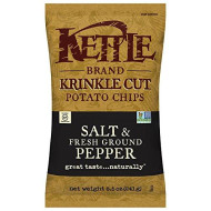 Kettle Foods, Chip Pto Salt Grnd Pppr, 8.5 Oz, (Pack Of 12)
