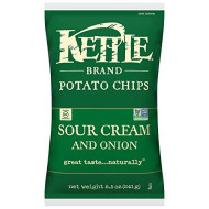 Kettle Foods, Chip Pto Sour Crm Onion &, 8.5 Oz, (Pack Of 12)