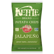 Kettle Foods, Chip Pto Jalapeno, 8.5 Oz, (Pack Of 12)