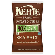 Kettle Foods, Chip Pto Seaslt, 8 Oz, (Pack Of 12)
