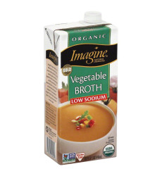 Imagine, Broth Ls Vegetable, 32 Oz, (Pack Of 12)