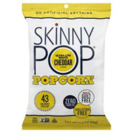 Skinny Pop, Popcorn Rte Wht Chdr Lte, 4.4 Oz, (Pack Of 12)