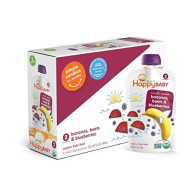 Happy Baby, Stage2 Bnna Beets Blbrry Org, 3.5 Oz, (Pack Of 16)