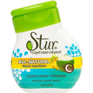 Stur, Coconut Wtr Enhncr Liq Pn, 1.1 Oz, (Pack Of 6)