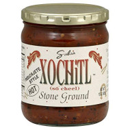 Xochitl, Salsa Stone Grnd Hot, 15 Oz, (Pack Of 6)