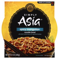 Simply Asia, Bowl Ht Srv Spcy Mongolai, 8.5 Oz, (Pack Of 6)