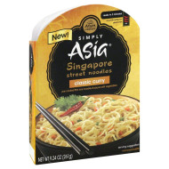 SIMPLY ASIA, NOODLE CLSSC CURRY, 9.24 OZ, (Pack of 6)