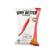 Way Better Snacks, Chip So Swt Chili, 5.5 Oz, (Pack Of 12)