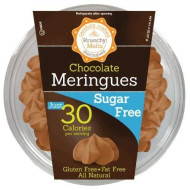 Krunchy Melts, Meringue Tub Sf Chocolate, 2 Oz, (Pack Of 12)