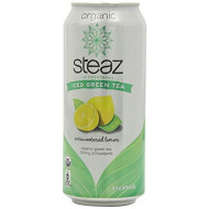 Steaz, Bev Tea Iced Grn Lmn Unsw, 16 Fo, (Pack Of 12)