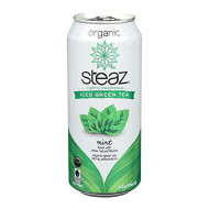 Steaz, Bev Tea Iced Grn Mint Org, 16 Fo, (Pack Of 12)