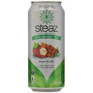 Steaz, Bev Tea Iced Super Fruit, 16 Fo, (Pack Of 12)