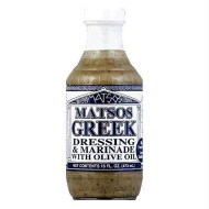 Matsos, Drssng Greek, 16 Oz, (Pack Of 6)