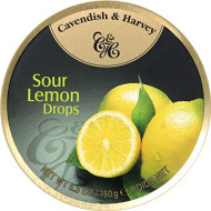 Cavendish & Harvey, Candy Tin Lemon, 5.3 Oz, (Pack Of 12)