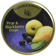 Cavendish & Harvey, Candy Tin Pear&Blkbry, 5.3 Oz, (Pack Of 12)