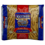 Racconto, Pasta Penne Lisce, 16 Oz, (Pack Of 20)