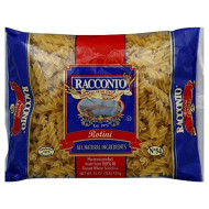 Racconto, Pasta Rotini Springs, 16 Oz, (Pack Of 20)