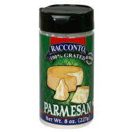 Racconto, Parmesan Chs Grated, 8 Oz, (Pack Of 6)