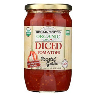Bella Terra, Tomato Rstd Grlc Diced, 24 Oz, (Pack Of 6)