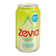 Zevia, Soda Twist Ntrl 6Pk, 72 Fo, (Pack Of 4)