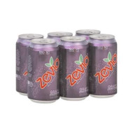 Zevia, Soda Grape 6Pk, 72 Fo, (Pack Of 4)