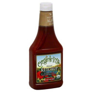 Organicville, Ketchup No Added Sgr, 24 Oz, (Pack Of 12)
