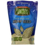Natures Earthly Choice, Seed Hemp Shelled, 8 Oz, (Pack Of 6)