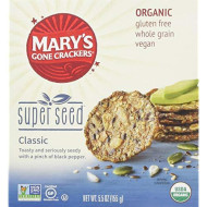 Marys Gone Crackers Cracker Super Seed , Size 5.5 Oz , (Pack Of 6)