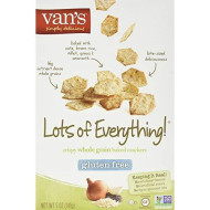 Vans, Cracker Everything, 5 Oz, (Pack Of 6)